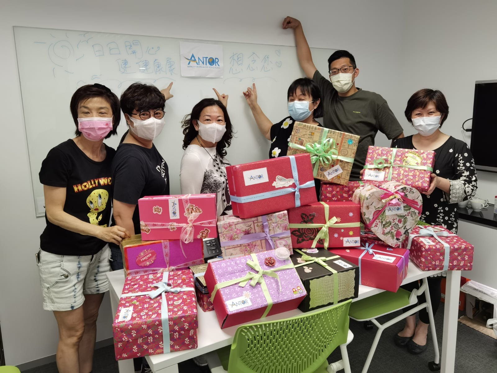 ANTOR Boxes for Elderly Campaign