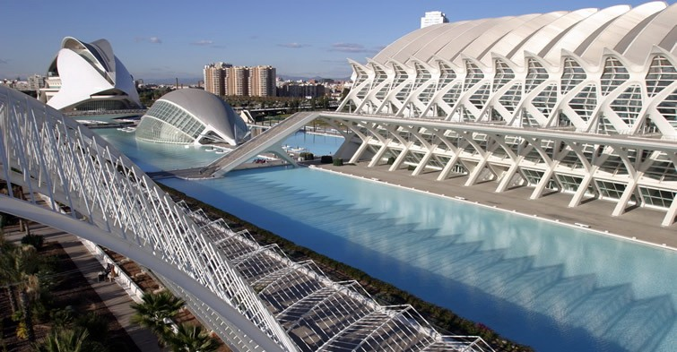 Spain - Valencia - The City Of Arts And Sciences