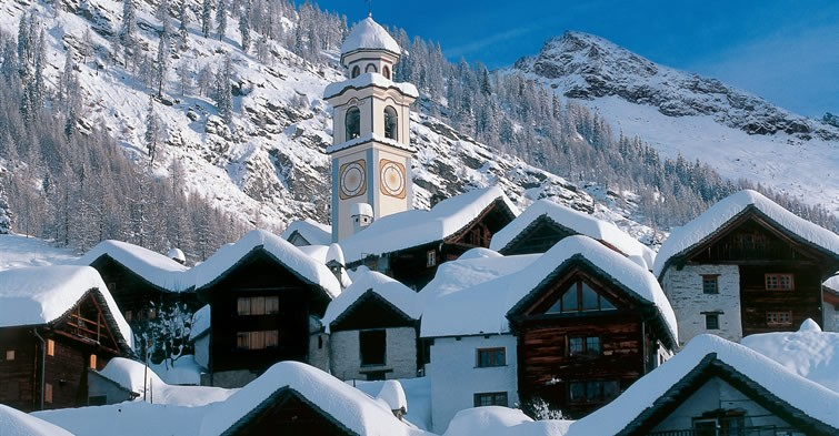 Switzerland - Engadine area (Winter)