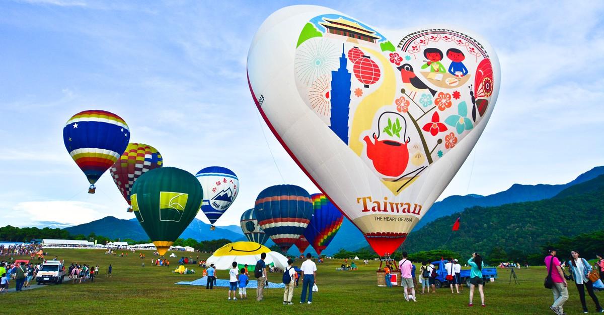 Taiwan - 台東熱氣球嘉年華