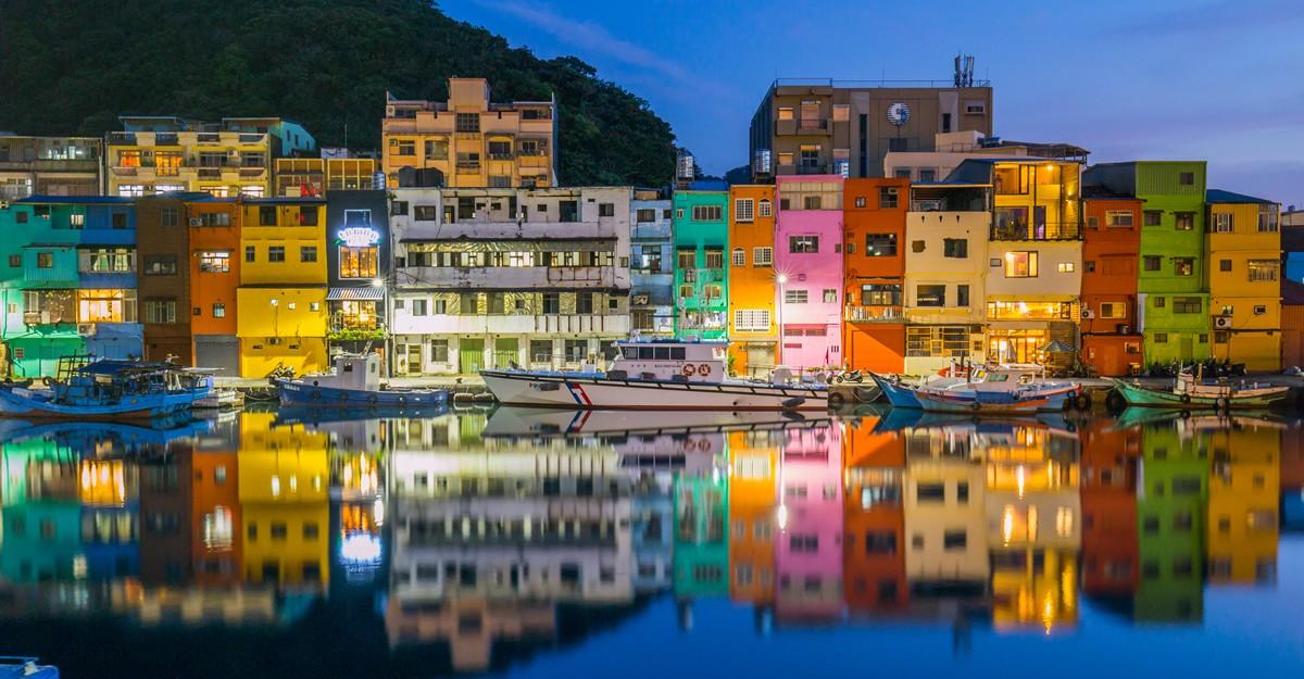 Taiwan - 正濱漁港